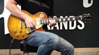 Gibson Custom Shop Mike McCready 1959 Les Paul Aged/Signed【週刊ギブソンVol.124】 ギブソン 検索動画 14