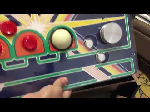 Arcade1Up Asteroids Into Asteroids 12 in 1 (Controller) Part