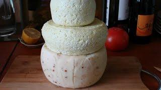ВАрим сыр. Качотта из козьего молока.