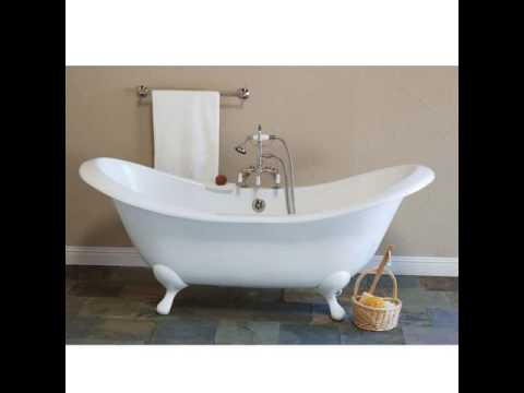 Double Slipper Tubs   Bathtubs   Bathroom