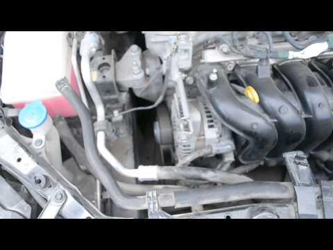 Шум помпы Toyota Corolla 150 1ZR-FE