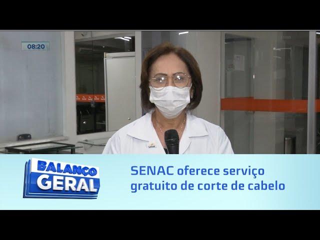 Oportunidade: SENAC oferece serviço gratuito de corte de cabelo masculino e feminino