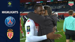 PARIS SAINT-GERMAIN - AS MONACO (0 - 2) - Highlights - (PSG - ASM) / 2020-2021