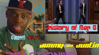 Jimmy Fallon & Justin Timberlake History of Rap 6 Reaction!!!