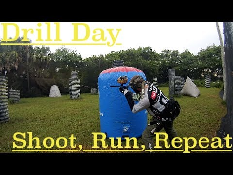 Drill Day - Shoot, Run, Repeat | How To Play Paintball