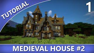 minecraft medieval tutorial houses tutorials