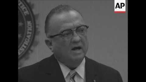FBI director J Edgar Hoover says FBI won't protect civil rights workers