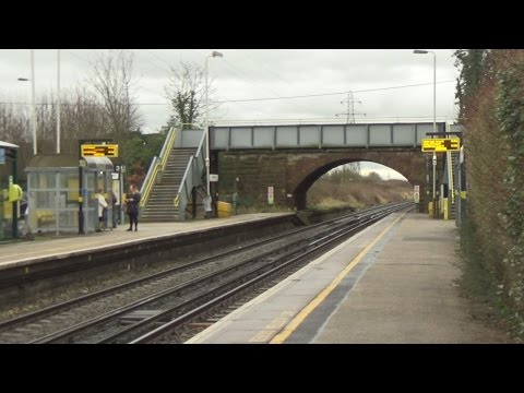 Capenhurst Railway Station - Wirral Line -The Wirral Channel