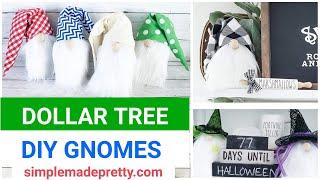 DOLLAR TREE DIY Gnomes - How to make DIY gnomes, DIY gnome Hat