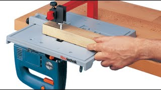 "Jigsaw Table ""faults And Fixes"" - Straight Cut - Blade Guide - Woodworking Hacks - Tips"