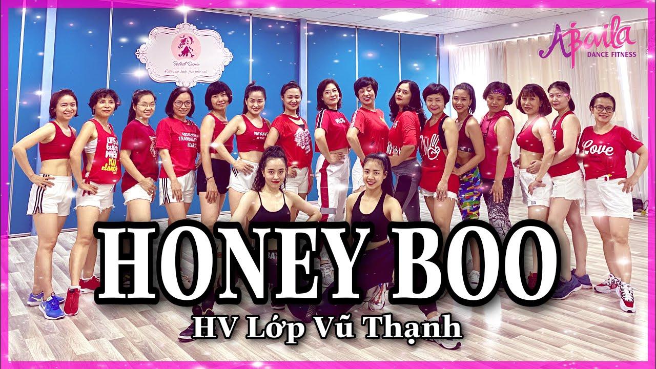 Honey Boo - CNCO & Natti Natasha | Zumba | Reggaeteon | HV Lớp 3-5 Vũ Thạnh | Abaila Dance Fitness |