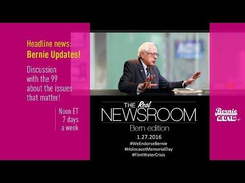 The Real News Room - Bernie Edition - 1.27.2016