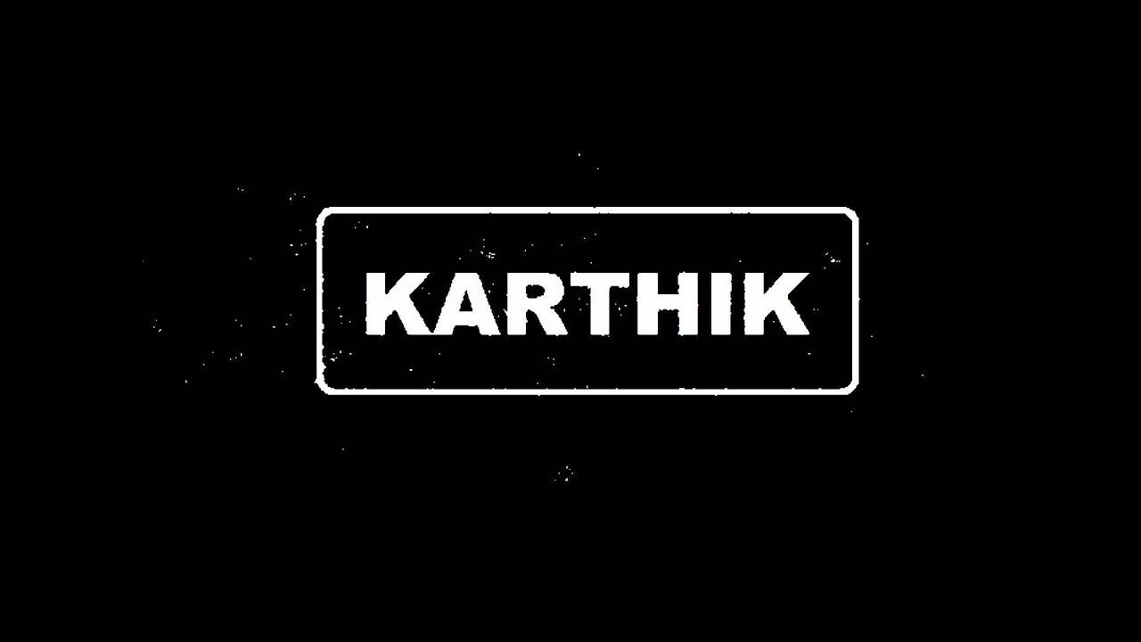 karthik's logo - YouTube
