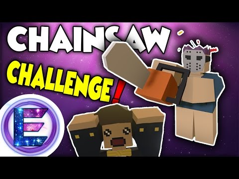 SNEAK ATTACK CHAINSAW CHALLENGE ! - It's MURDER - Unturned Sandbox PVP - Funny Moments