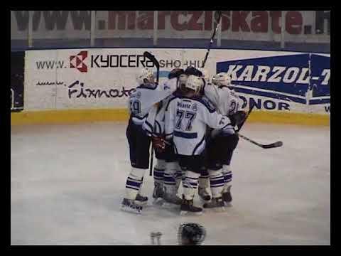 Mol Liga: Újpesti TE - HC Csíkszereda 3-4 OT, 2008.10.03, highlights