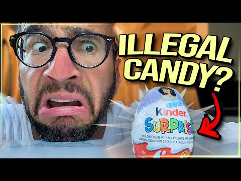 The REAL Reason Kinder Eggs Are ILLEGAL In America! Viva Frei Vlawg