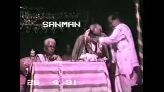 Yakshagana Vitla gopalakrishna Joshi Sanmana in 1990 at surathkal Mela Sheni G Bhat and Perla K Bhat