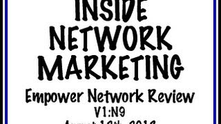 Inside Network Marketing V1:N9 (9/11/13)