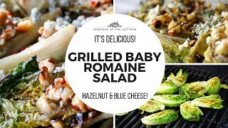 GRILLED BABY ROMAINE SALAD | Easy & Tasty