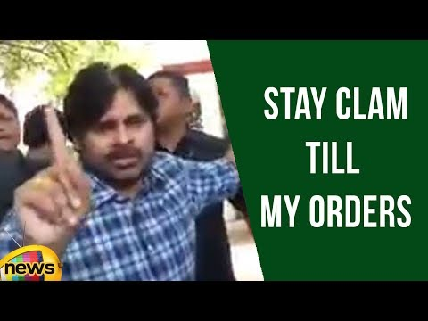 Janasena Pawan Kalyan Calms His Fans,  Asks Not To Respond On Any Issues | Mango News