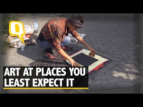 The Quint: Uber Cool 'Pirate Printers' Use Manhole Covers To Print T-Shirts