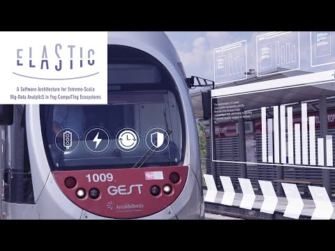 ELASTIC: A Software Architecture For Extreme-ScaLe Big-Data AnalyticS In Fog CompuTIng ECosystems