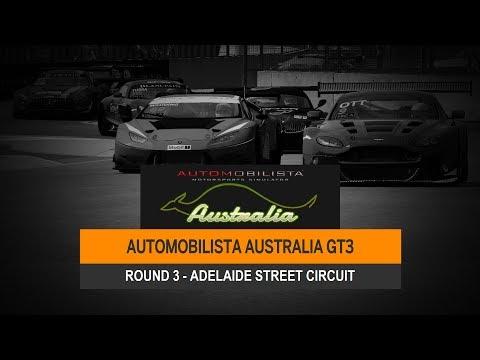 AMS Australia Broadcast - GT3 R3 - Adelaide Street Circuit