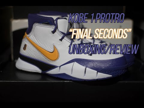 """kobe-1-protro-""""final-seconds""""-sneaker-unboxing-and-review"""