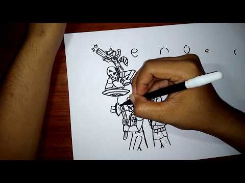 HOW TO DRAW AVENGERS ENDGAME