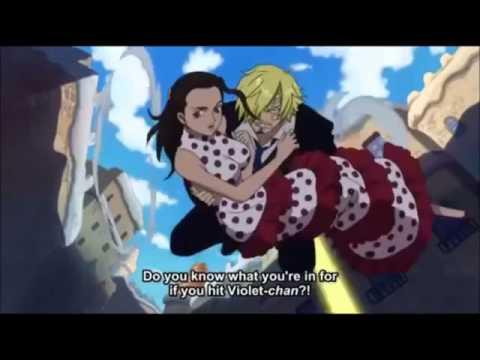 One Piece Sanji warn Law