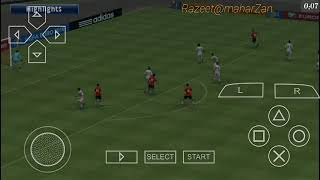 PRO EVOLUTION 2018 PES Gameplay on Android device