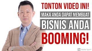 TONTON VIDEO INI! MAKA ANDA DAPAT MEMBUAT BISNIS ANDA BOOMING!
