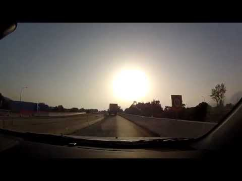 Selianitika to Patras' bypass (Greek National Road 8A, highway driving, Greece) - onboard camera