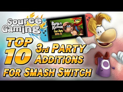 Top 10 3rd Party Additions for Smash for Switch - SG Choice