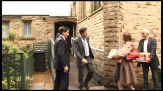 NHS petition hand-in to Nick Clegg by 38 Degrees members in Sheffield Hallam