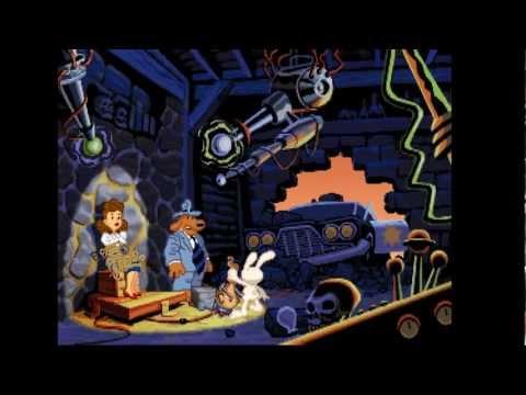 EB play Sam & Max Hit the Road #1