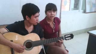 Áo xanh, with guitar :)