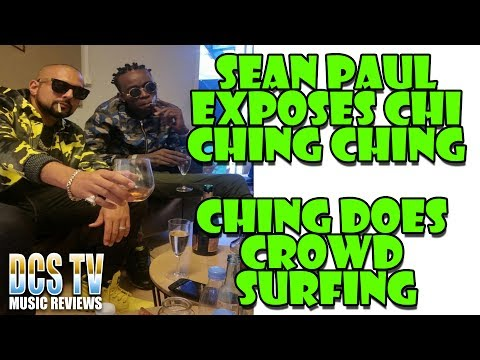 Sean Paul Exposes Chi Ching Ching July 2017 He Jumps Of Stage Into Crowd, Crowd Surf...