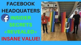 Facebook AD Headquarters Insider Secrets Revealed  - Day Inside Of Headquarters Walkthrough