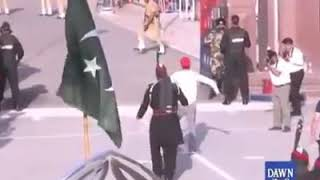 Hassan Ali On Wagah Border Lahore