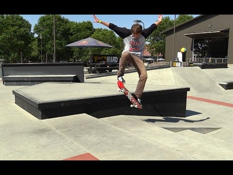 HOW TO OLLIE UP A EURO GAP THE EASIEST WAY TUTORIAL!