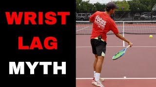 Forehand WRIST LAG EXPLAINED! Learn how to EASYLY do it