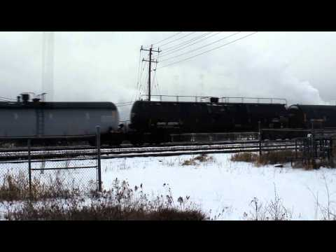 Bleak Winter Weather Oshawa  West Late Dec 2012.wmv