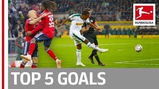 Top 5 Goals on Matchday 5 -  Robben, Larsen, Plea and More