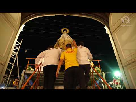 Nazareno 2018: Mary † meets † Jesus at San Sebastian Church