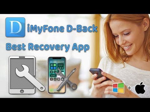 How to Use iMyFone D-Back To Recover Lost | Deleted Contacts on iPhone