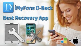 How to Use iMyFone D-Back To Recover Lost   Deleted Contacts on iPhone