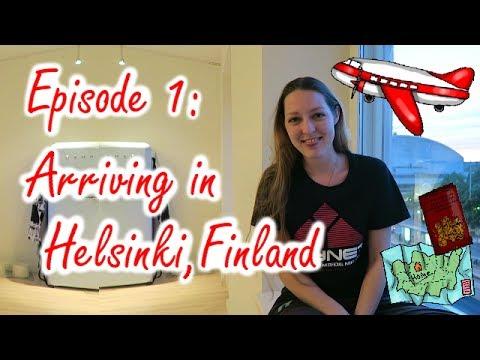 Ep 1: Arriving in Helsinki, FINLAND
