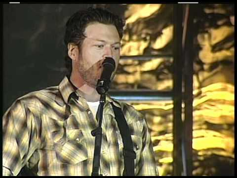 BLAKE SHELTON The More I Drink 2009 LiVE