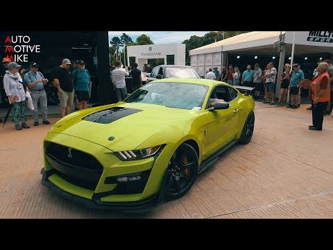 NEW 2020 Mustang Shelby GT500 is a WILD BEAST - Burnouts & Flatout | Goodwood 2019